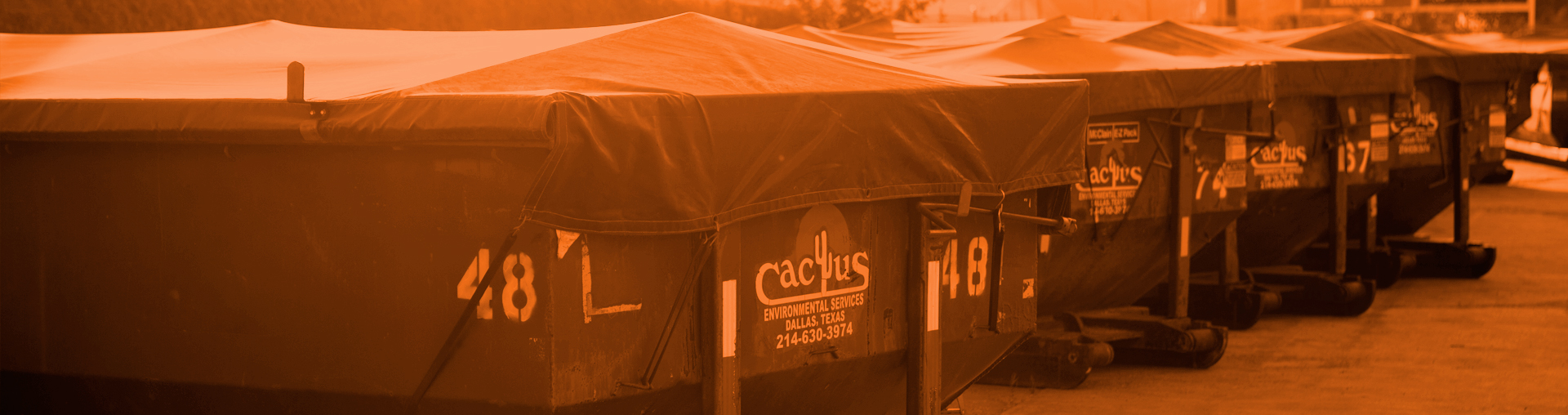 Cactus Environmental Vacuum Tanker and Hydroblasting Equipment Hazardous Waste Removal Services