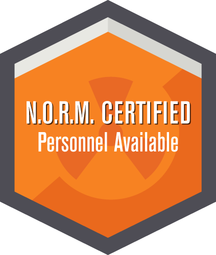 N.O.R.M. Certified Personel Available
